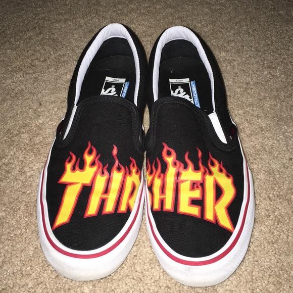 vans x thrasher schoenen